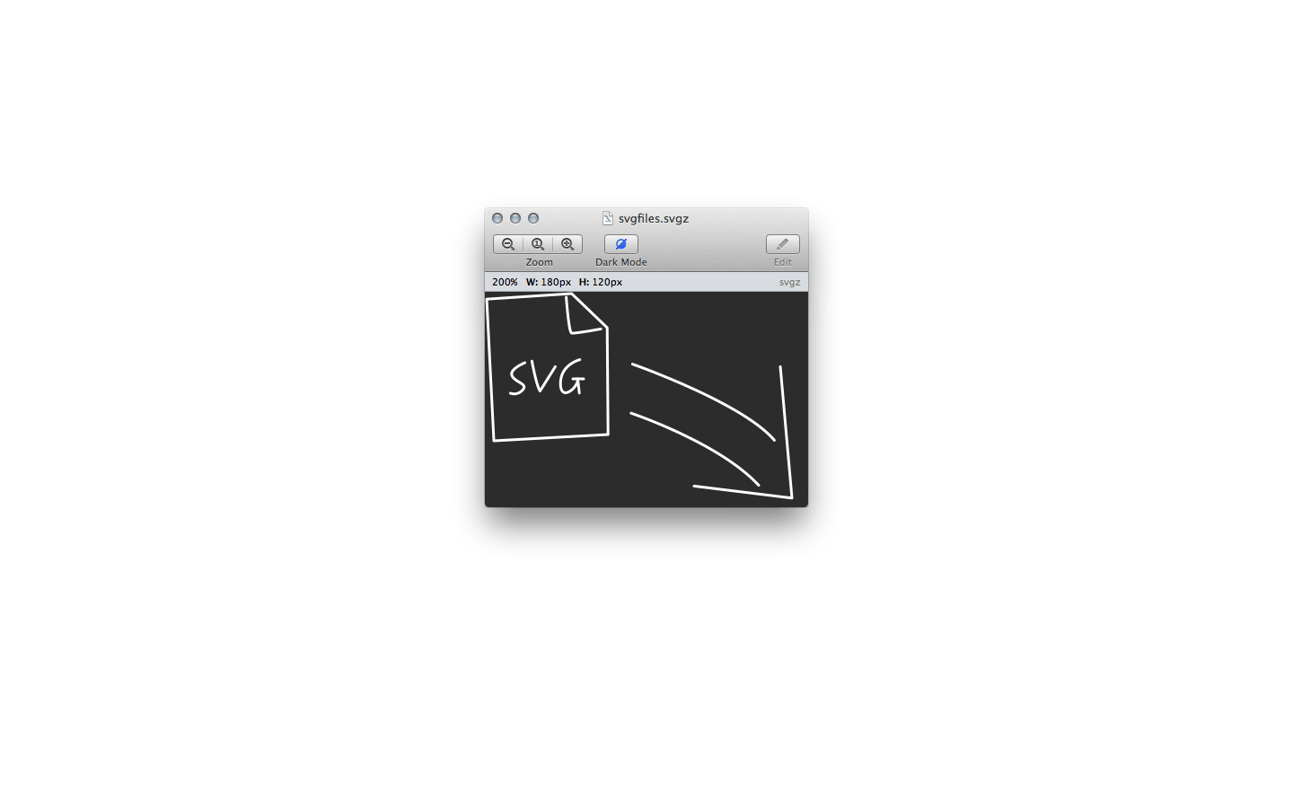 Gapplin - SVG Viewer for macOS